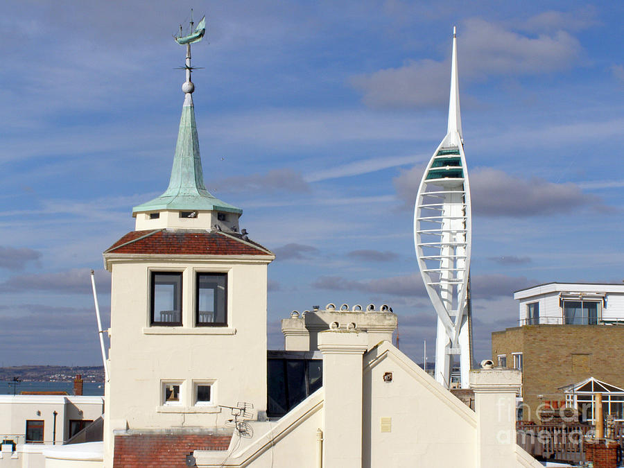 Old Portsmouths Towers Photograph  - Old Portsmouths Towers Fine Art Print