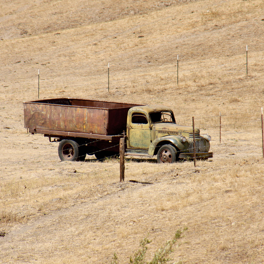 Old Ranch Truck Photograph