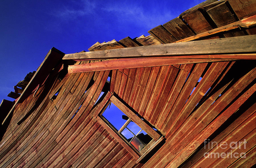 Photo Photograph - Old Red Barn by Bob Christopher