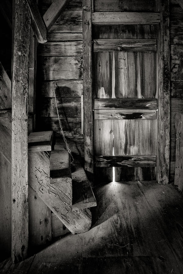 Old Room - Rustic - Inside The Windmill Photograph