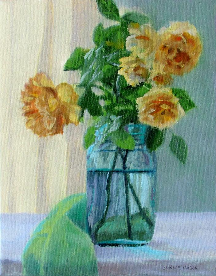 Old Roses Painting