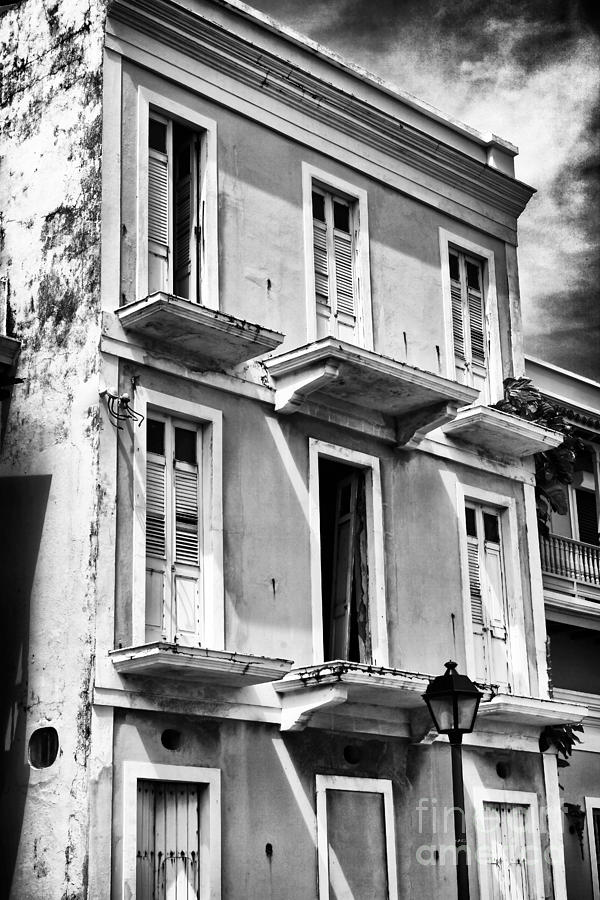 Old San Juan Architecture Photograph