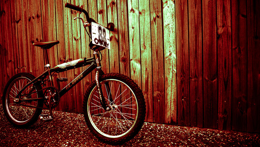 Old School Bmx - Pk Ripper  Photograph  - Old School Bmx - Pk Ripper  Fine Art Print