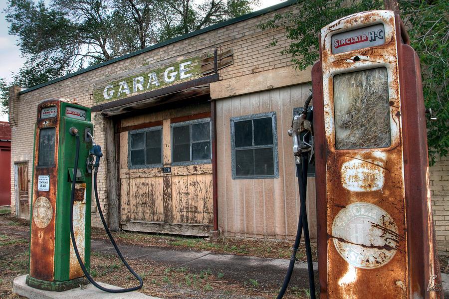 Vintage Service Station Garage : Old service station by brett pelletier