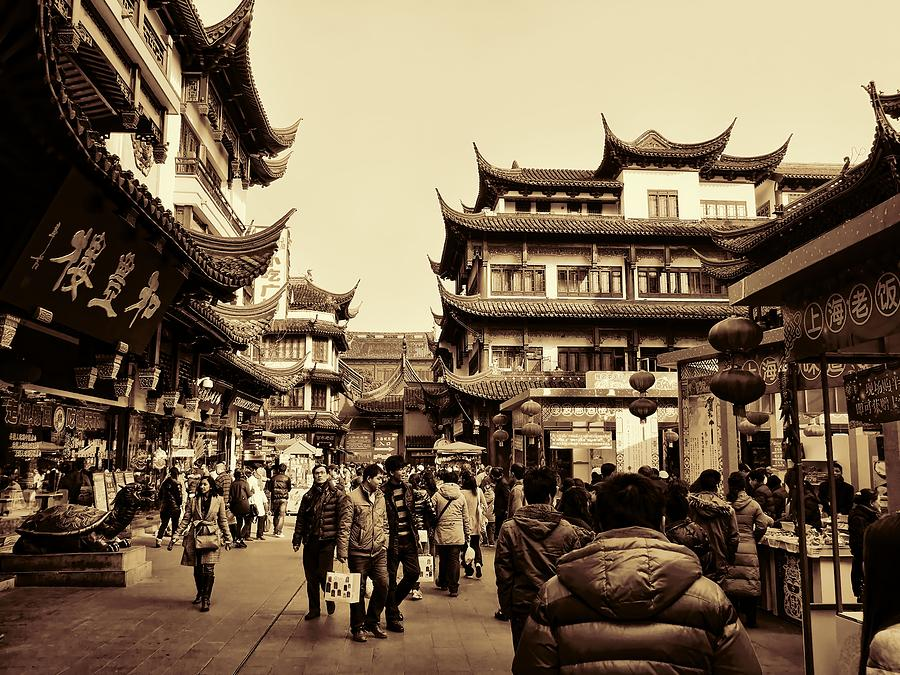 Old Shanghai Photograph By Robert Knight