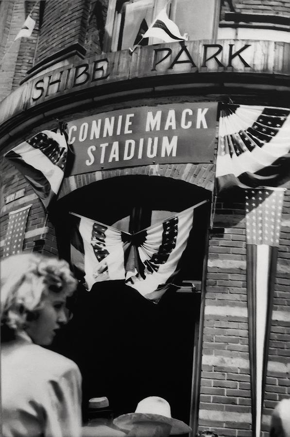 Old Shibe Park - Connie Mack Stadium Photograph