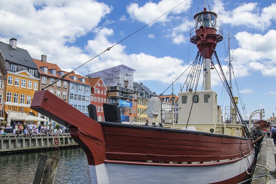 Old Ship - Nyhavn - Copenhagen Denmark Photograph