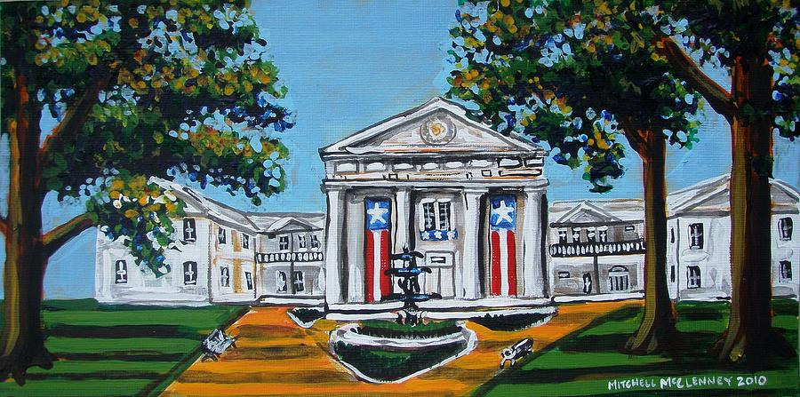 Old State House Painting - Old State House by Mitchell McClenney