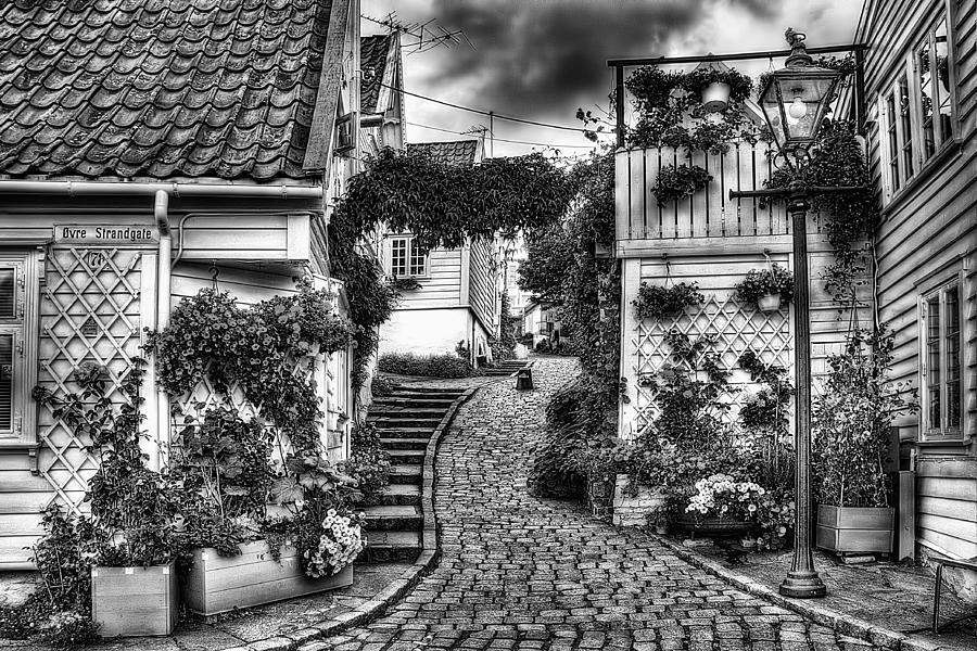 Old Stavanger Part I Photograph  - Old Stavanger Part I Fine Art Print