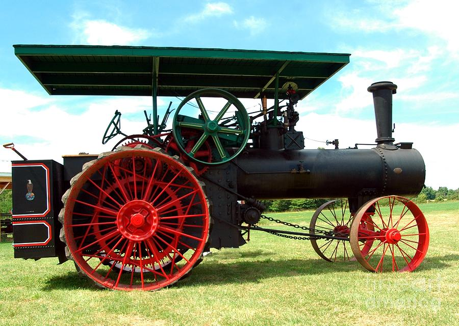 Old Steam Engine Photograph