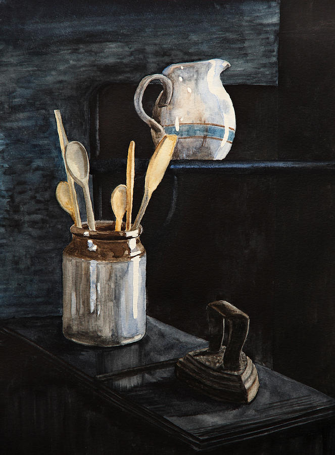 Old Still Life Painting