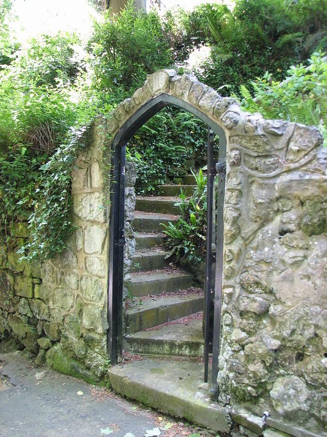 Old Stone Gate Photograph By Carla Parris
