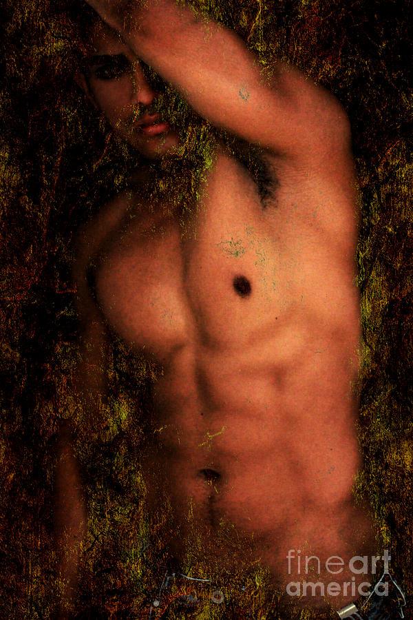 Male Nude Art Photograph - Old Story 1 by Mark Ashkenazi
