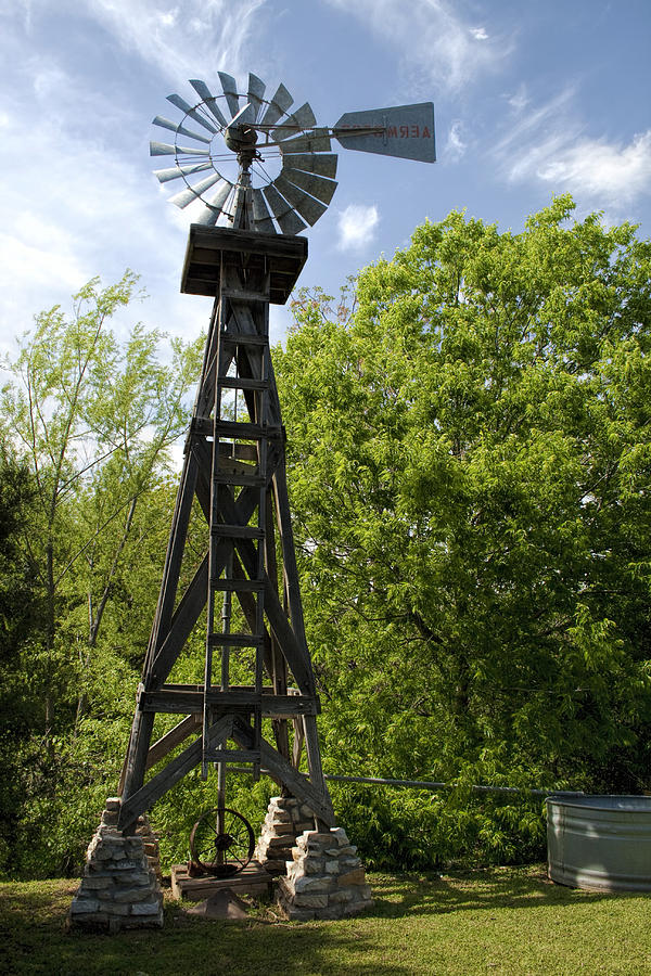how to build a windmill water pump