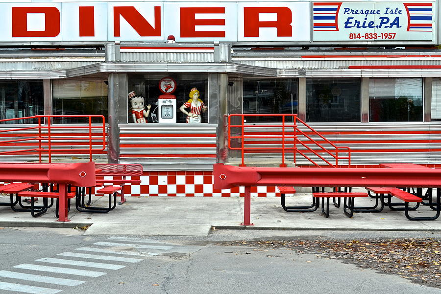 Old Time Diner Photograph