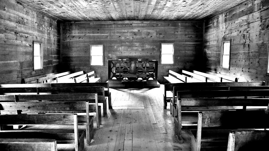 Old Time Religion -- Cades Cove Primitive Baptist Church Photograph