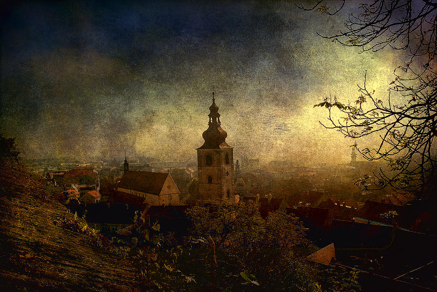 Old Town Digital Art