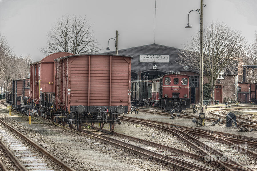 Old Train Station Photograph by Four Hands Art