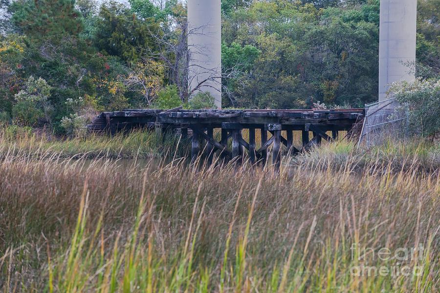 Old Train Tracks Photograph