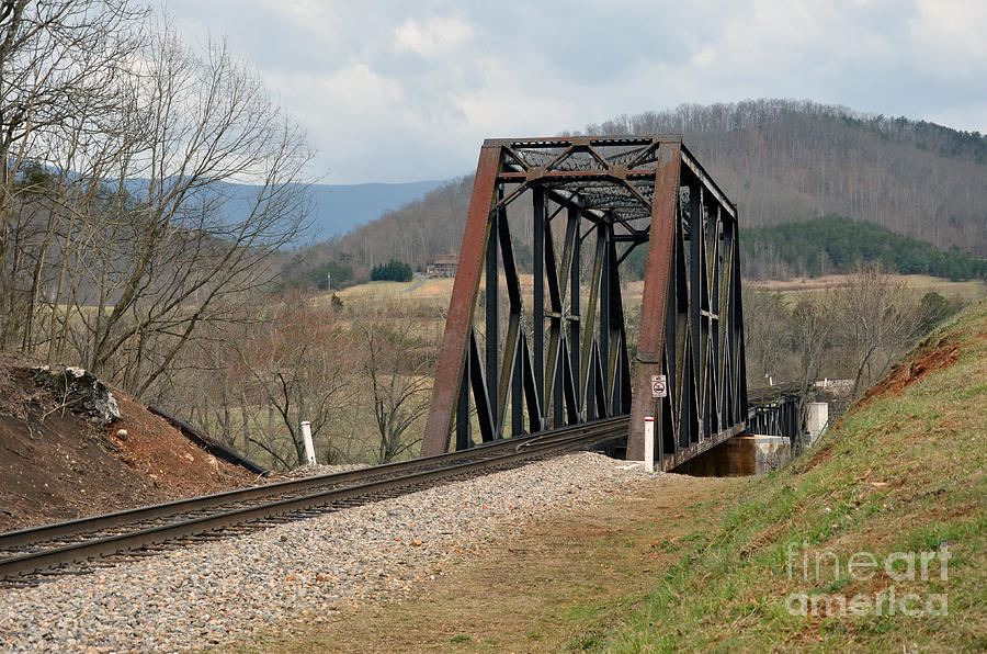 Old Train Trestle Photograph  - Old Train Trestle Fine Art Print