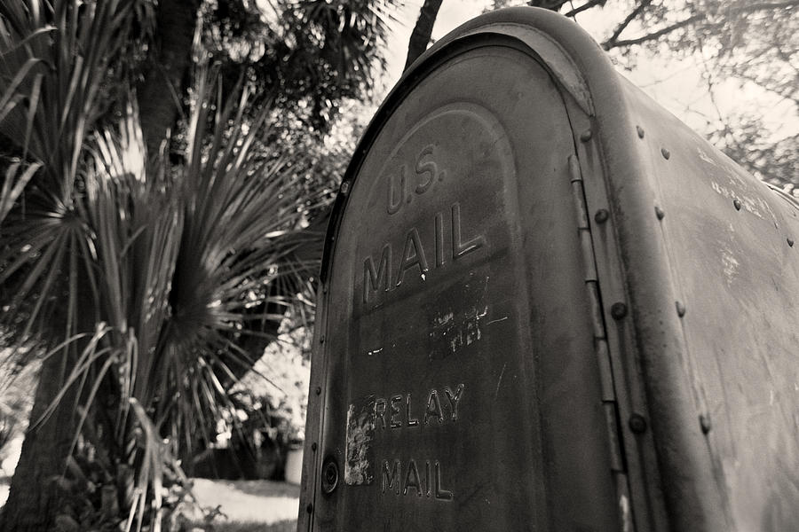 Old Us Mailbox - St Petersburg - Florida Photograph