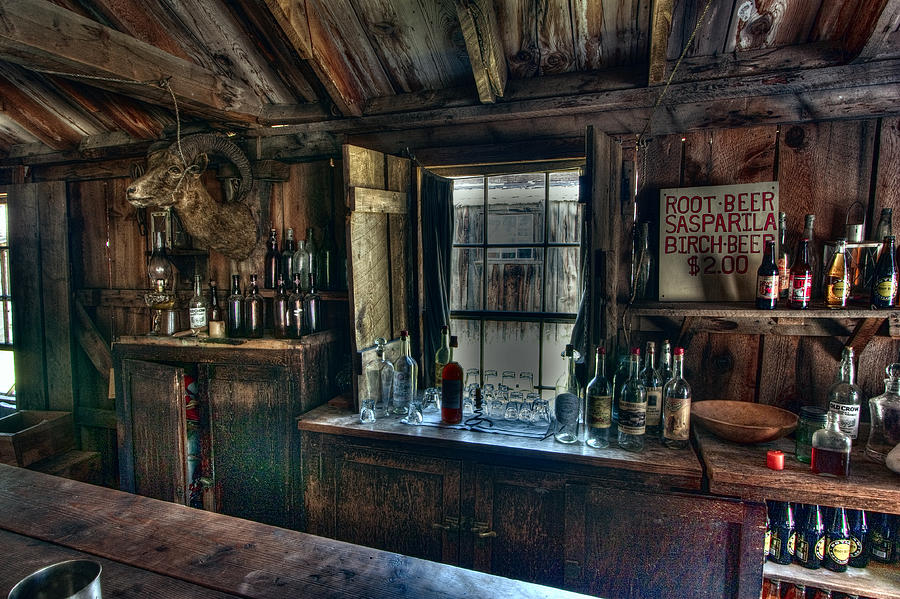 Old West Bar Criterion Saloon Photograph By Daniel Hagerman