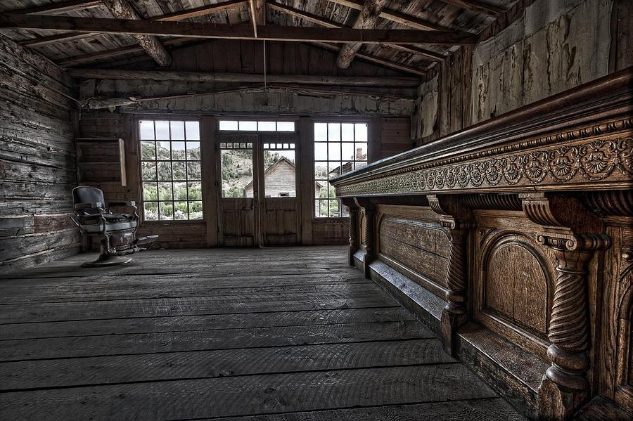 Old West Saloon Bar Bannack Ghost Town Montana