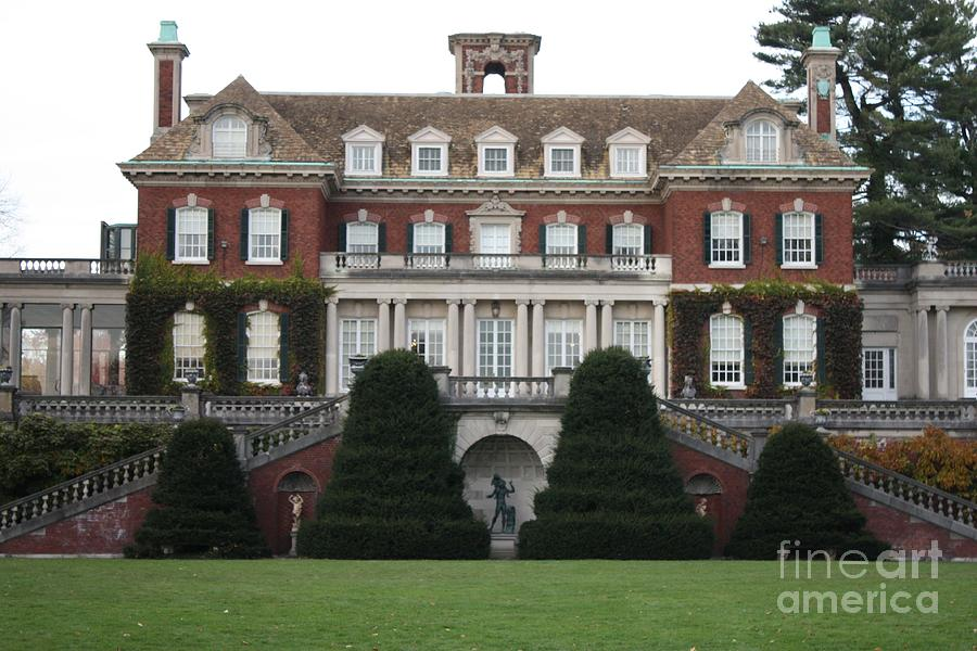 Old Westbury Gardens Rear Entrance Photograph  - Old Westbury Gardens Rear Entrance Fine Art Print
