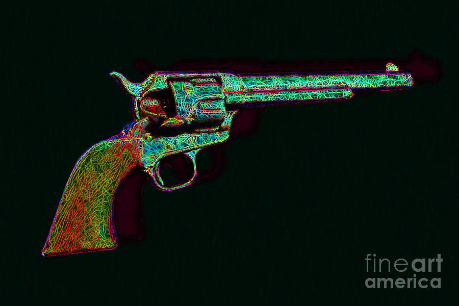 Old Western Pistol - 20130121 - V1 Photograph