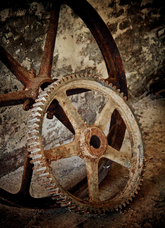 Old Wheels Photograph