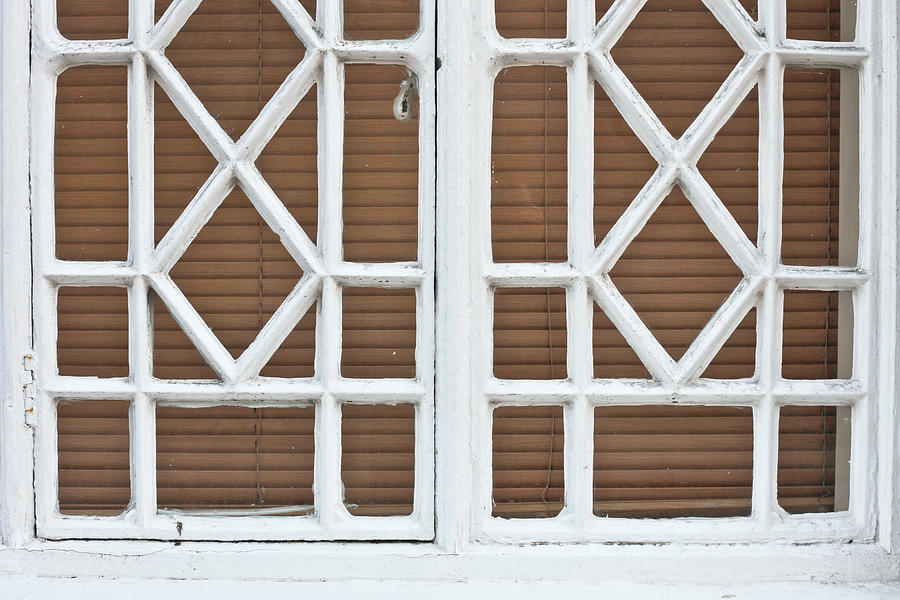 Old Window Frame Photograph