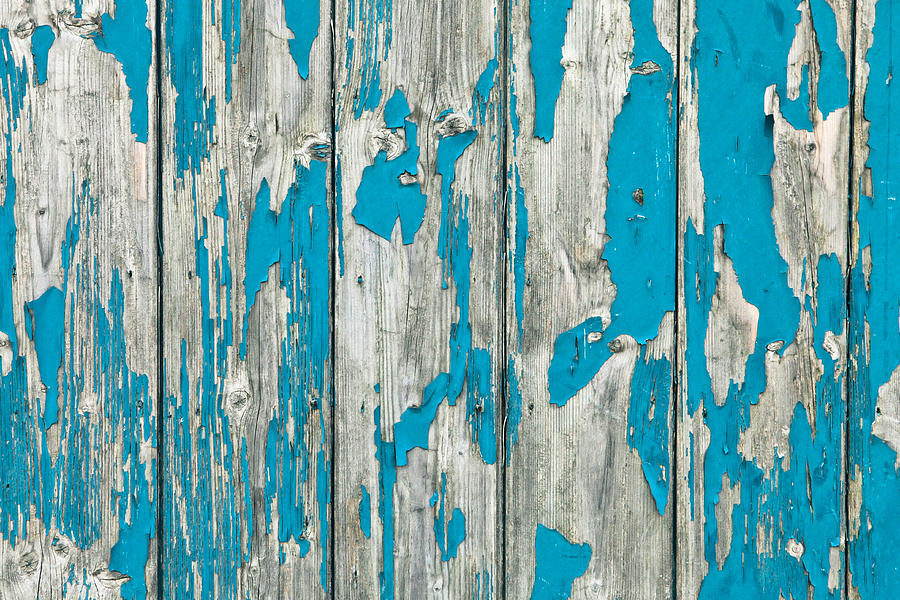 Abstract Photograph - Old Wood by Tom Gowanlock
