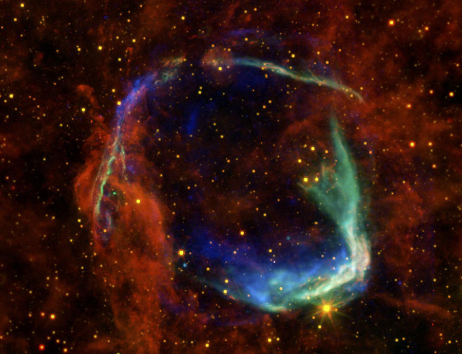 Oldest Recorded Supernova Photograph