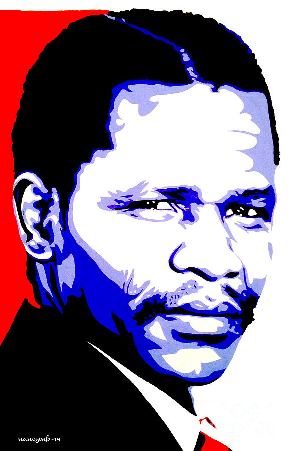 Oliver Tambo is a painting by Nancy Mergybrower which was uploaded on ...