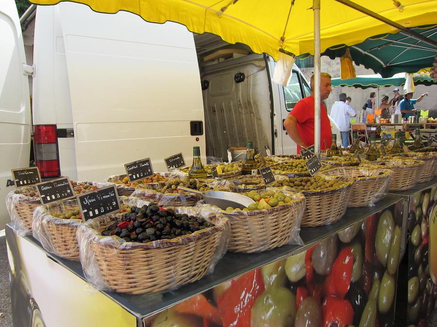 Olive Photograph - Olives For Sale by Pema Hou