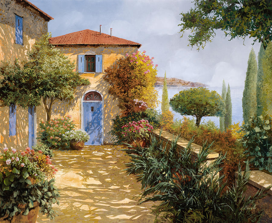 Ombre Sul Terrazzo Painting