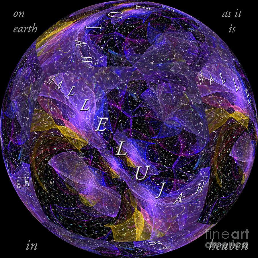 On Earth As It Is In Heaven Digital Art