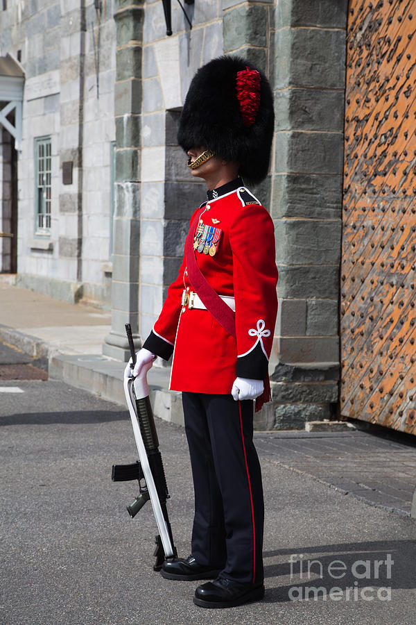 On Guard Quebec City Photograph