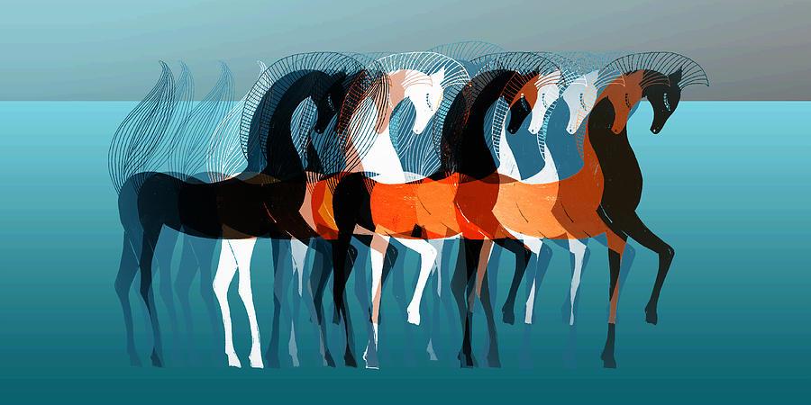On Parade Digital Art