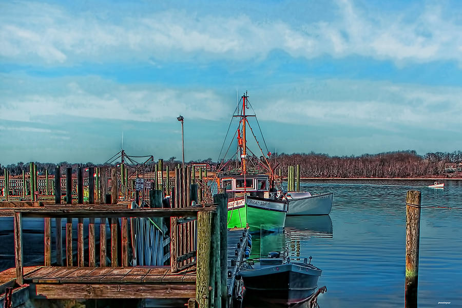 On The Dockside Photograph  - On The Dockside Fine Art Print