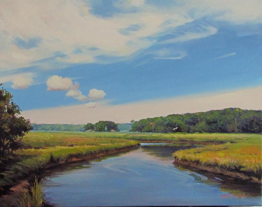On The Gannett Painting