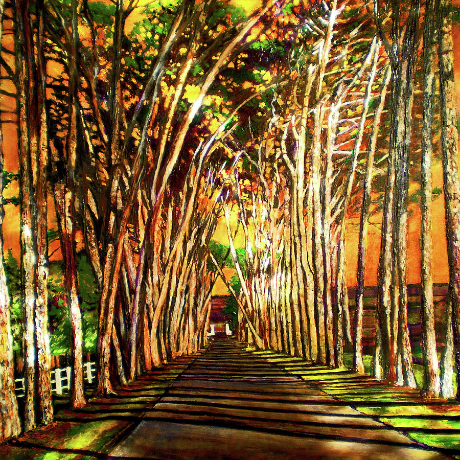 On The Road Painting  - On The Road Fine Art Print