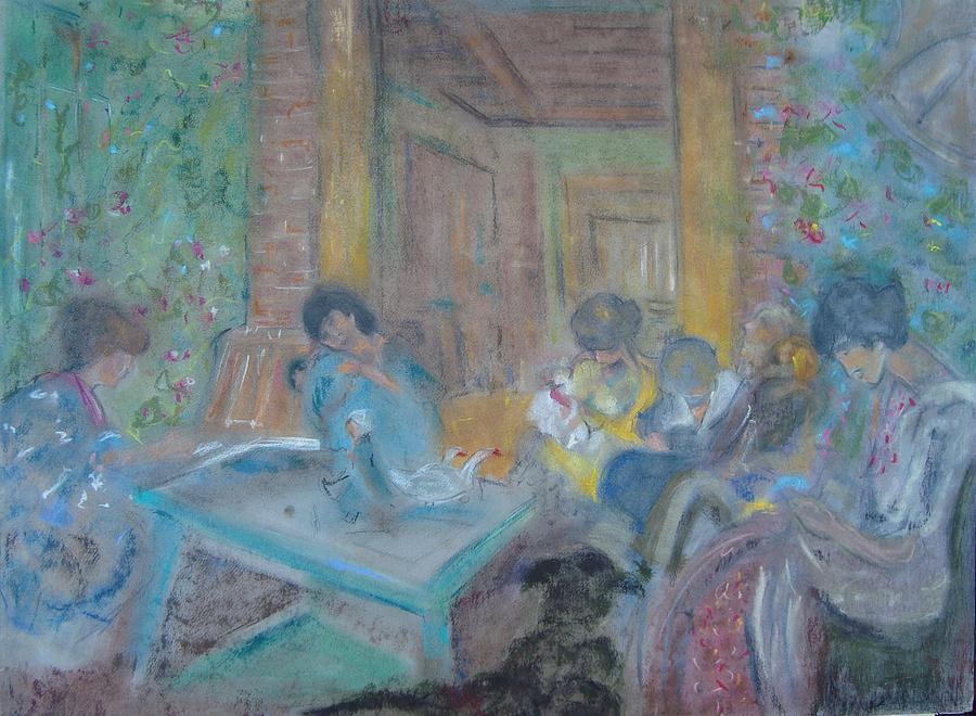 On The Terrace Pastel