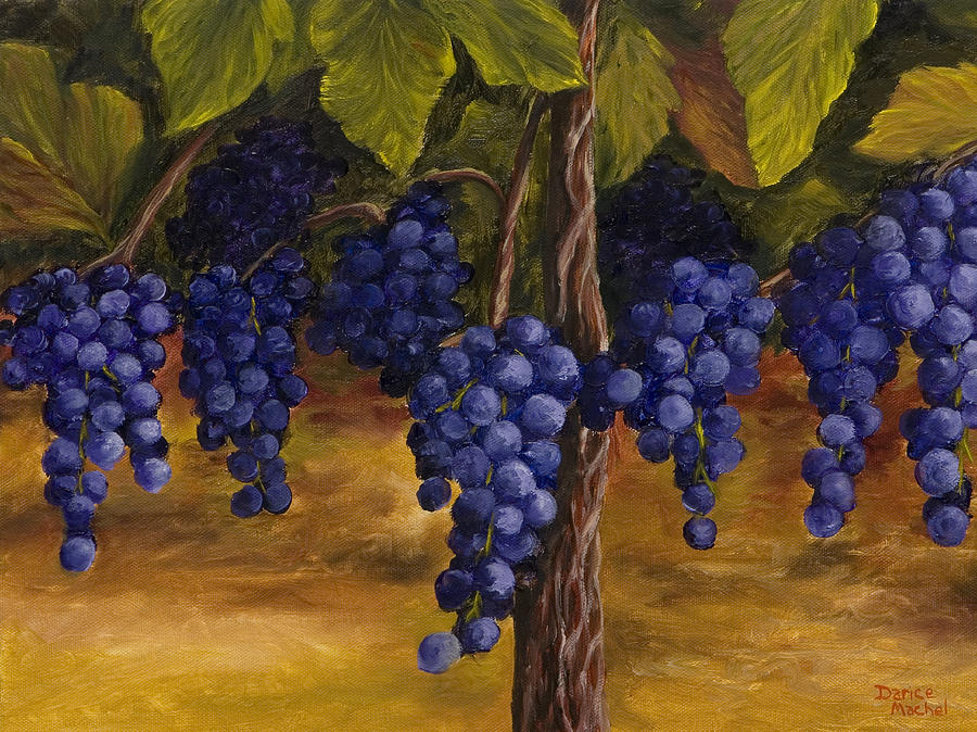 On The Vine Painting