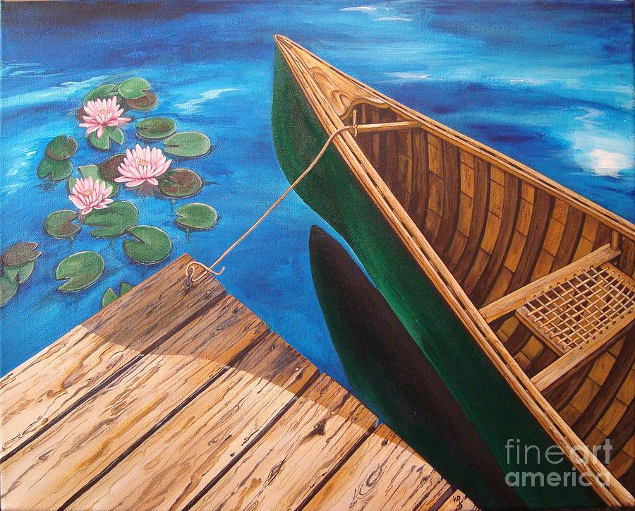 On The Water Painting  - On The Water Fine Art Print