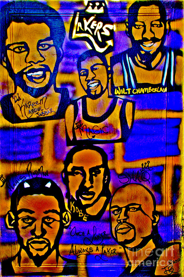 Once A Laker... Painting  - Once A Laker... Fine Art Print