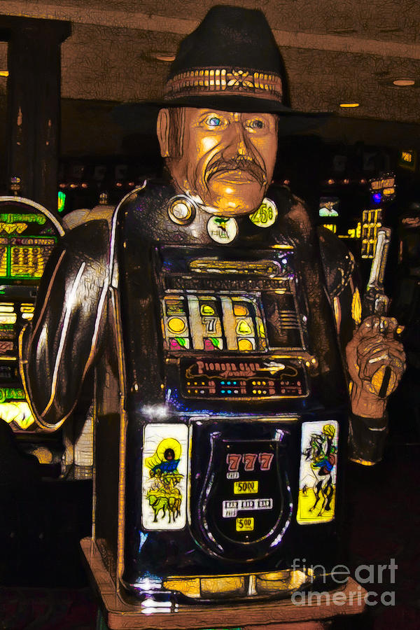 One Arm Bandit Slot Machine 20130308 Photograph  - One Arm Bandit Slot Machine 20130308 Fine Art Print
