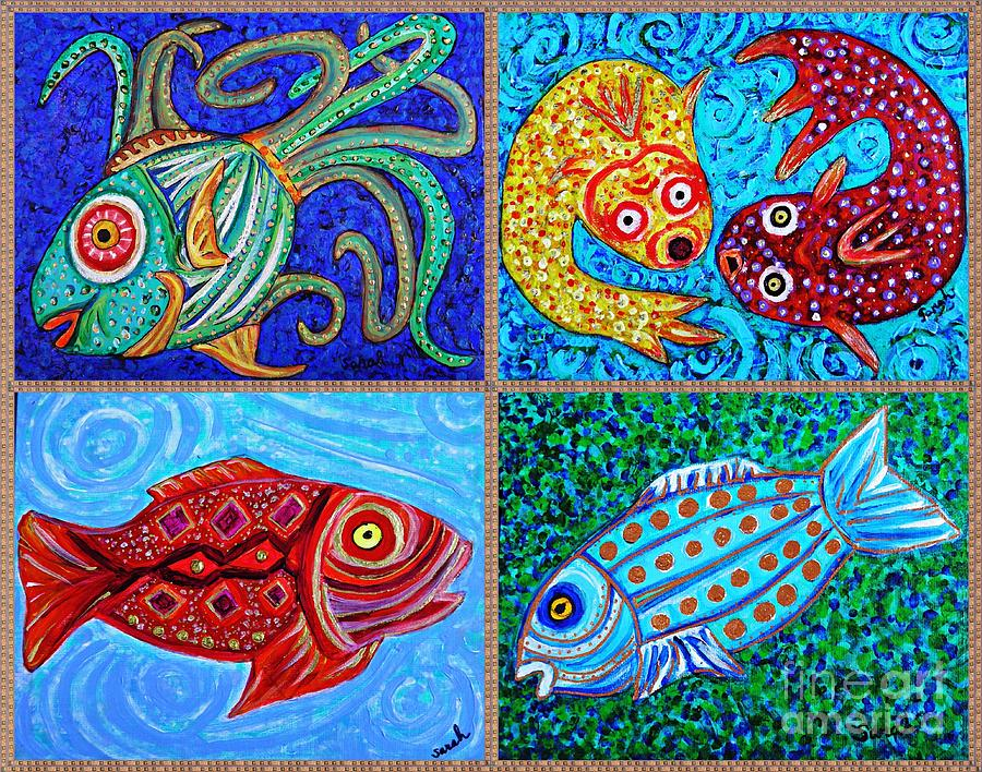 One Fish Two Fish Painting