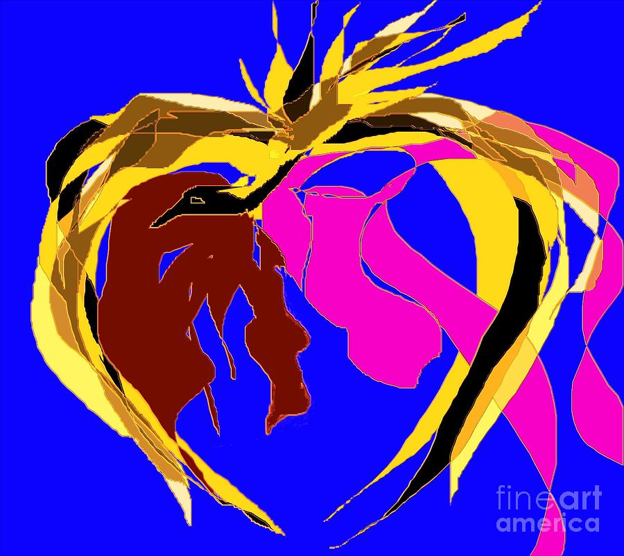 One Heart And One Soul 1 Painting