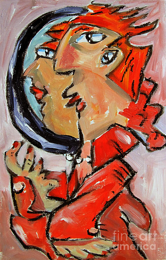 One Last Look Painting